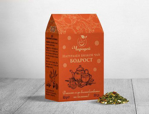 Опаковка – Чай Бодрост