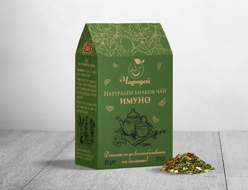Опаковка – чай Имуно